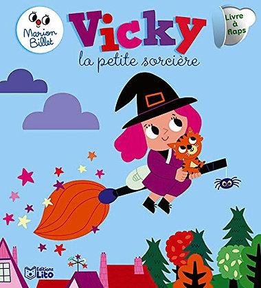 Vicky, La Petite Sorcière - Dès 10 mois - Livre à flaps