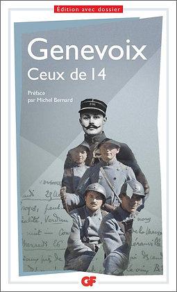Ceux de 14 - Maurice Genevoix - Flammarion