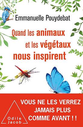 Quand les animaux et les végétaux nous inspirent - E. Pouydebat - Ed Odile Jacob