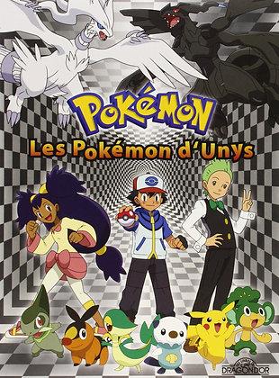Livre /Album /  PUZZLE - POKEMON -Les Pokémon d'Unys - contient 4 Puzzles