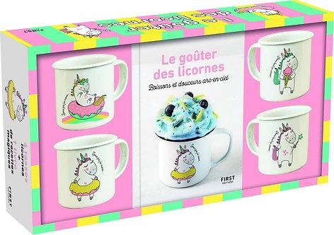 Coffret Le Goûter Licorne - Editions First