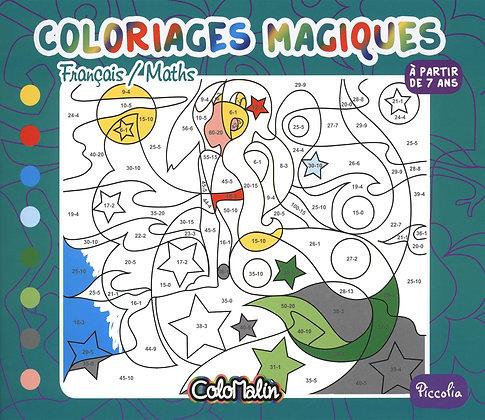 Français / Maths - Coloriages Magiques - Marie Sophie - Piccolia