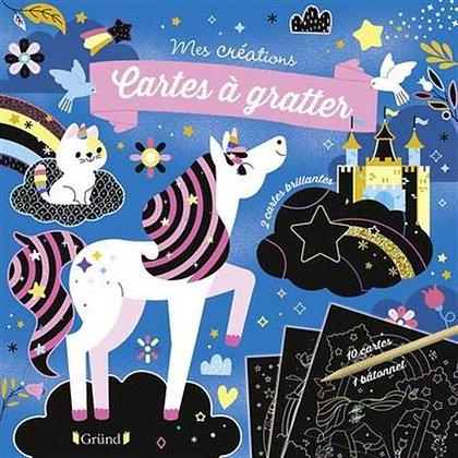 Licornes Et Chevaux - Pochette Cartes À Gratter  - Gründ