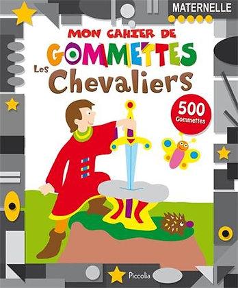 Mon cahier de gommettes / Les chevaliers - Piccolia