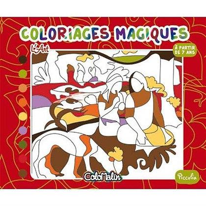 L'art - Coloriages Magiques  - Piccolia