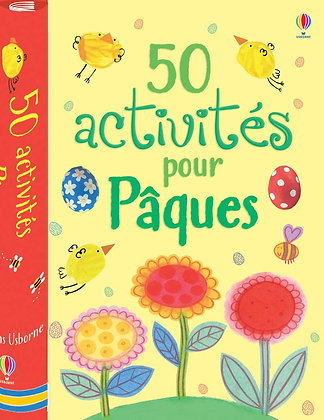 50 Activités Pour Pâques - Knighton Kate - Editions Usborne
