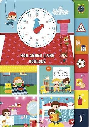 Mon Grand Livre Horloge  - Véronique Petit - Livre enfant Piccolia