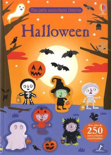 Halloween - Avec Plus De 250 Autocollants Réutilisables - Smith Sam