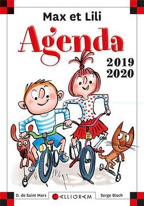 Agenda scolaire Max et Lili 2019-2020 Poche – Caligram