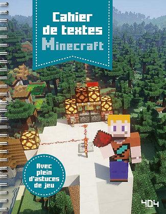 Cahier De Textes Minecraft - Avec Plein D'astuces De Jeu - Pilet Stéphane