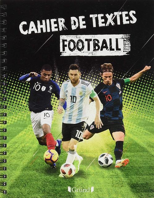 Cahier de Textes Football 2019-2020 Broché