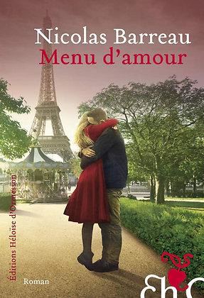 Menu D'amour - Nicolas Barreau - Editions Héloïse D'ormesson