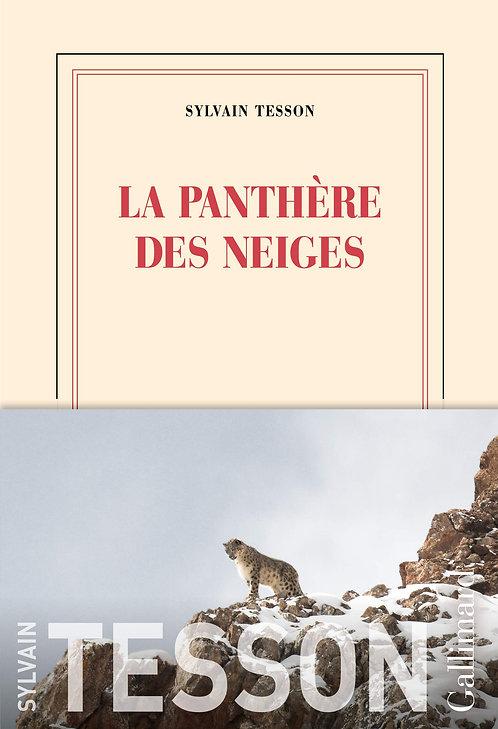La Panthère Des Neiges - Sylvain Tesson - Gallimard - Prix Renaudot