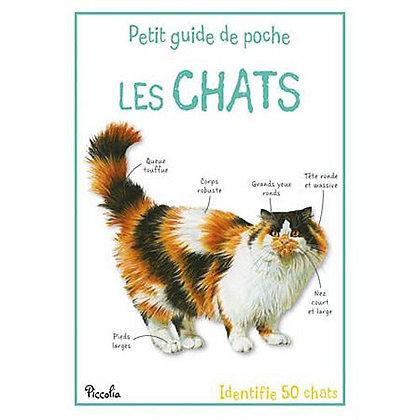 Petit guide de poche - Les Chats - Piccolia
