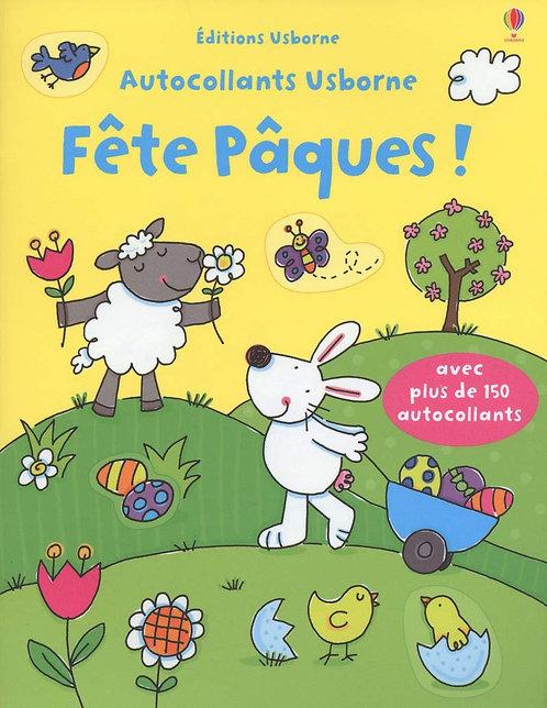 Livre  ENFANT - Fête Pâques !  - Francesca Allen - Autocollants Usborne