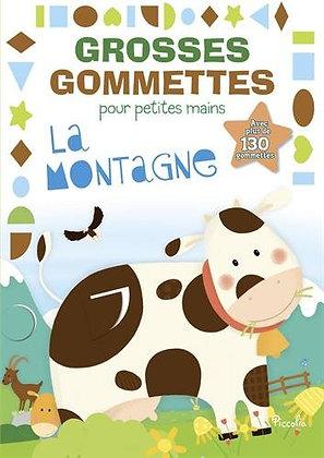 La montagne : Avec plus de 130 gommettes - Piccolia -  livre enfant