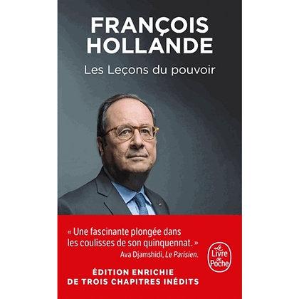 Les Leçons Du Pouvoir - François Hollande - Le  livre de poche