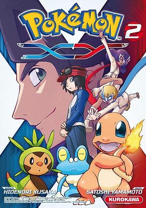 Pokémon - XY - tome 02  - Hidenori KUSAKA - Satoshi YAMAMOTO -Kurokawa