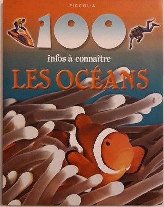 100 Infos À Connaître -  Les Océans   de clare oliver  Format Album