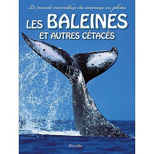 Les Baleines Et Autres Cétacés - Coët Nathalie - Piccolia - Livre enfant animaux