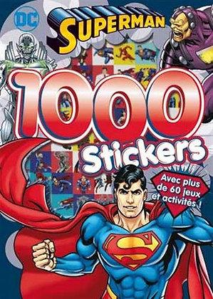 1000 Stickers Superman - Perragon - livre d'activités enfant