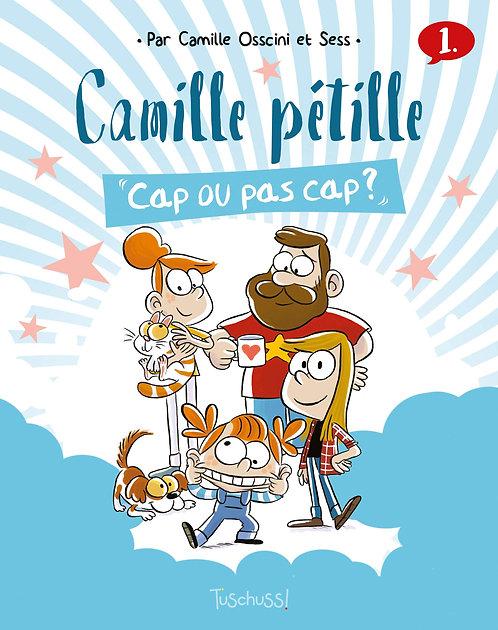Camille pétille, Tome 1 : En avant toutes ! - Editeur  Slalom