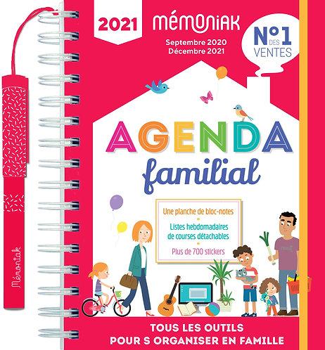 Agenda Familial Mémoniak - Tous Les Outils Pour S'organiser En Famille -  Ed 365