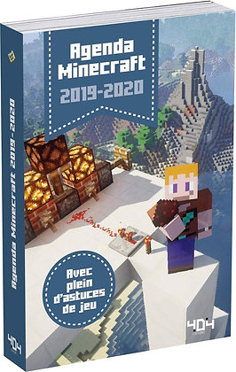 Agenda 2019-2020 - Minecraft  - Pilet Stéphane  - 404 Editions