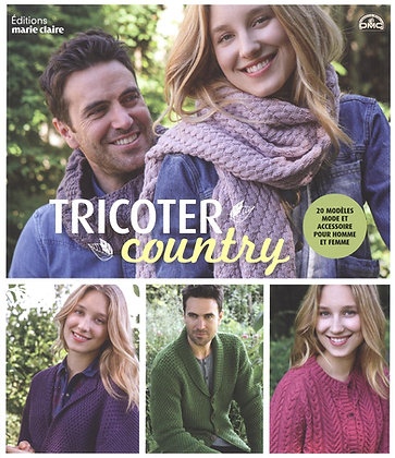 Tricoter Country - 20 Modèles Mode Et Accessoire Pour Homme Et Femme Charlotte R