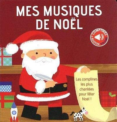 Comptines - Mes Musiques De Noël - Beauregard Arthur - Thomas Jeunesse Ed.