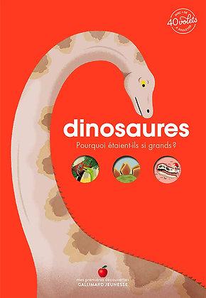 Dinosaures.Pourquoi étaient-ils si grands ?Mon documentaire animé · de 4 à 7 ans