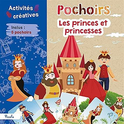 Pochoirs Les Princes Et Princesses - Avec 5 Pochoirs -Loisirs créatifs- Piccolia
