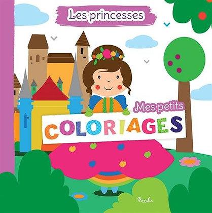 Mes petits coloriages - Les princesses - Piccolia