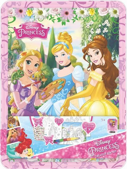 Disney Princess - Boite métallique - Piccolia - Coffret Créatif