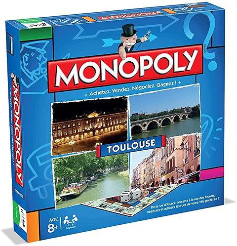 MONOPOLY TOULOUSE - Jeu de société - Winning-moves