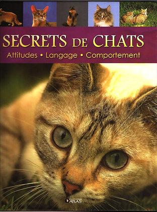 Secrets de chats - Marie-José Courreau - Atlas