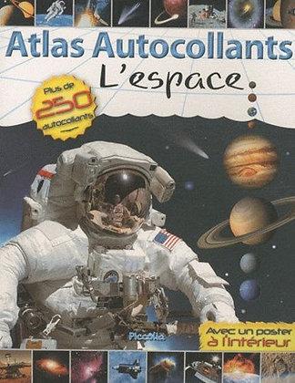 Atlas Autocollants - L'espace - Fleming Garry - Piccolia