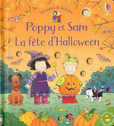 La Fête D'halloween Poppy Et Sam - Taplin Sam -Ed Usborne