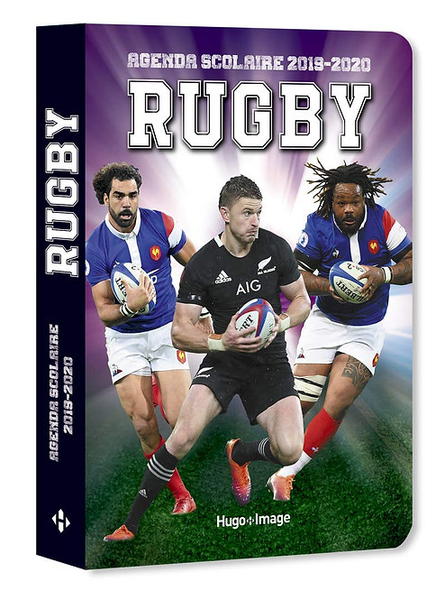 Agenda 2019-2020 - Agenda Scolaire Rugby - Hugo Image