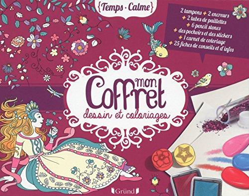 Mon Coffret Dessin Et Coloriages - Lise Herzog - Editions Gründ