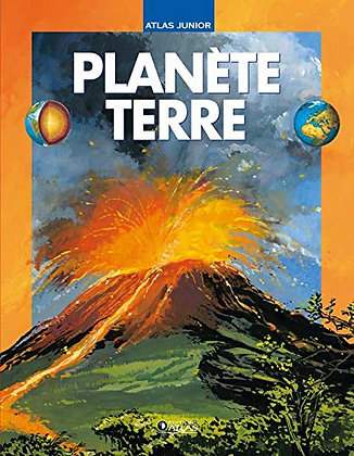 Planète Terre - Atlas Junior - Editions Glénat
