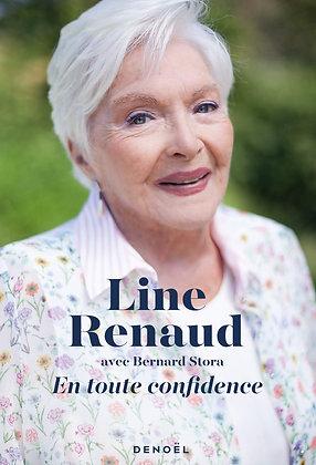En toute confidence  - Line Renaud - Editions Denoël - livre