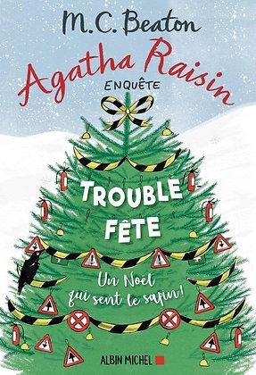Agatha Raisin 21 - Trouble-fête - M.C. Beaton - Albin Michel