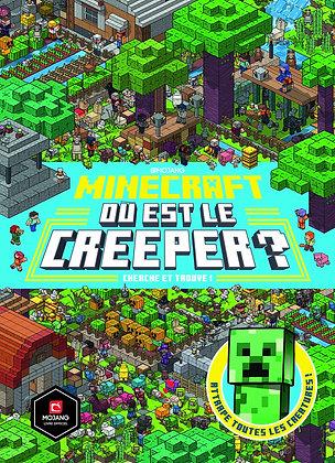 Minecraft : Où Est Le Creeper ? - Cherche Et Trouve ! - Mr Misang - Gallimard