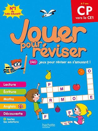 Jouer pour réviser - Du CP au CE1 - Cahier de vacances 2021-