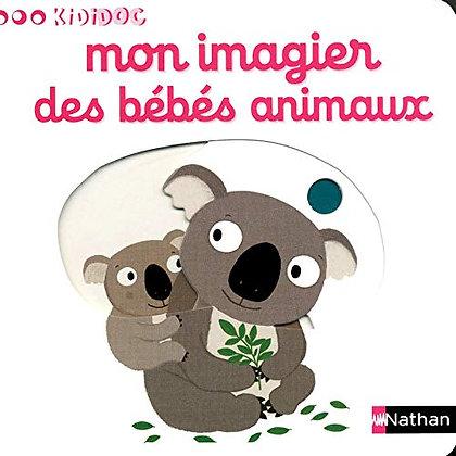 Livre enfant - Mon Imagier Des Bebes Animaux - Choux Nathalie - Nathan