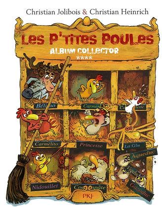Les P'tites Poules - Album collector (Tomes 13 à 16) (4) - Christian HEINRICH