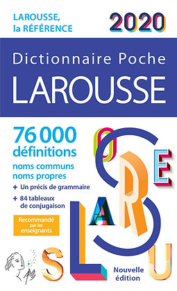 Dictionnaire Larousse de poche 2020