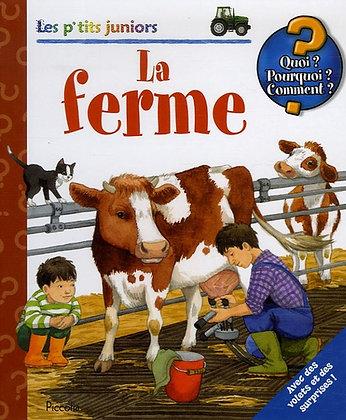 La Ferme - Ebert Anne - Piccolia - Livre enfant