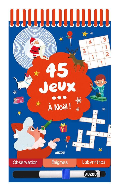 45 Jeux - À Noël ! - Avec 1 Feutre - Potard Céline